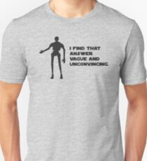 Star Wars Rogue One // K-2SO Droid Unisex T-Shirt