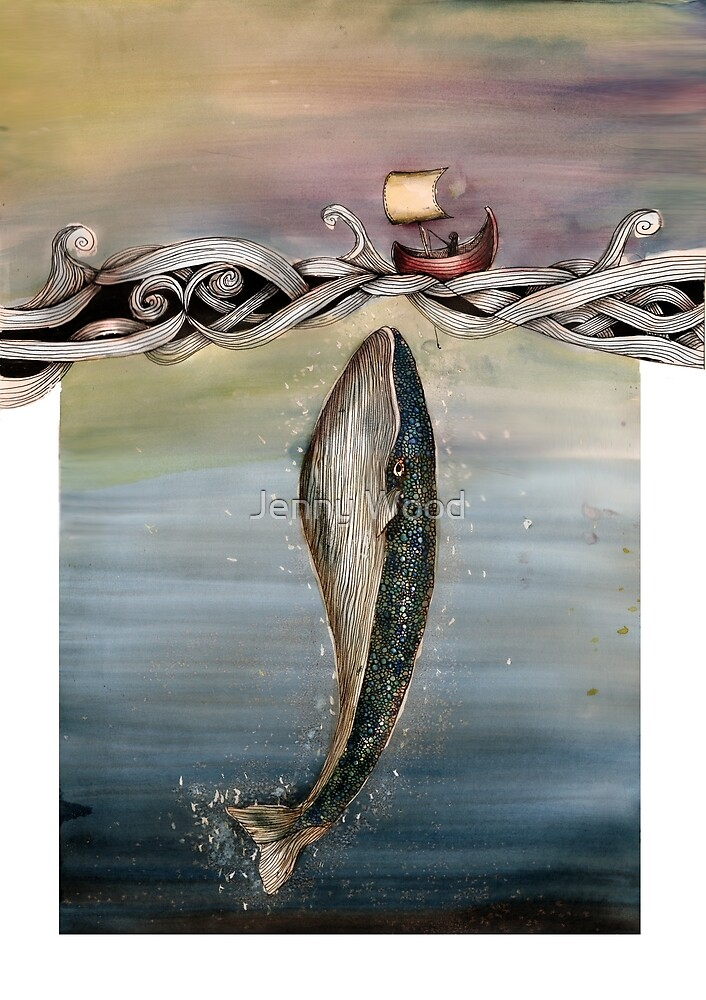 Jonah and the whale by Jenny Wood