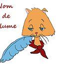 Nom De Plume by redqueenself