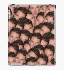Benedict Cumberbatch Texture iPad Case/Skin