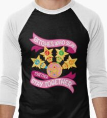 Slay Together, Stay Together - Sailor Scouts Men's Baseball ¾ T-Shirt