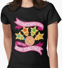 Slay Together, Stay Together - Sailor Scouts Womens Fitted T-Shirt