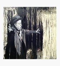 Tom Waits - Making it Rain. Photographic Print