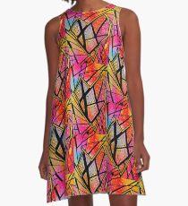 glass heart A-Line Dress
