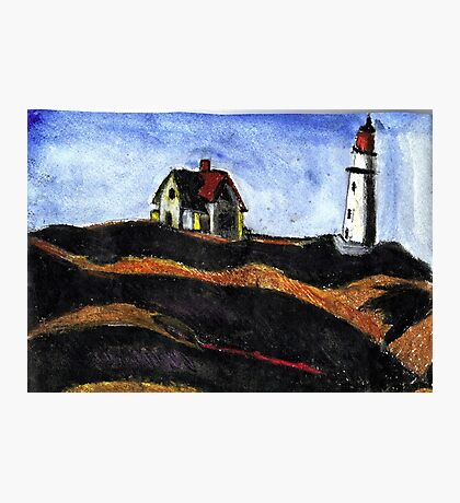 LightHouse (After E.Hopper) Photographic Print