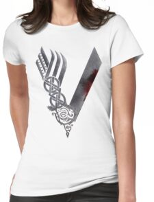 Vikings HD logo Womens Fitted T-Shirt