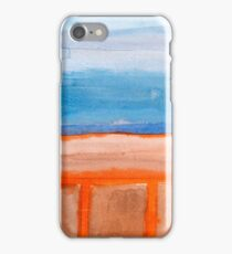 Firery Traces at the Seaside  iPhone Case/Skin