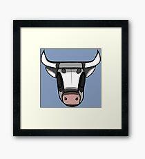 bull Framed Print