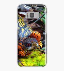 Colorful Box Turtle Samsung Galaxy Case/Skin