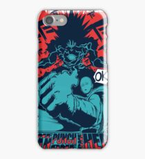 One man, one punch, one HERO. iPhone Case/Skin