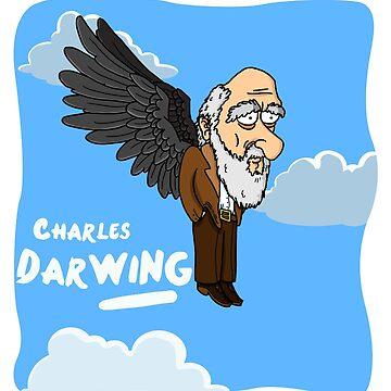Charles DarWING by lleganyes