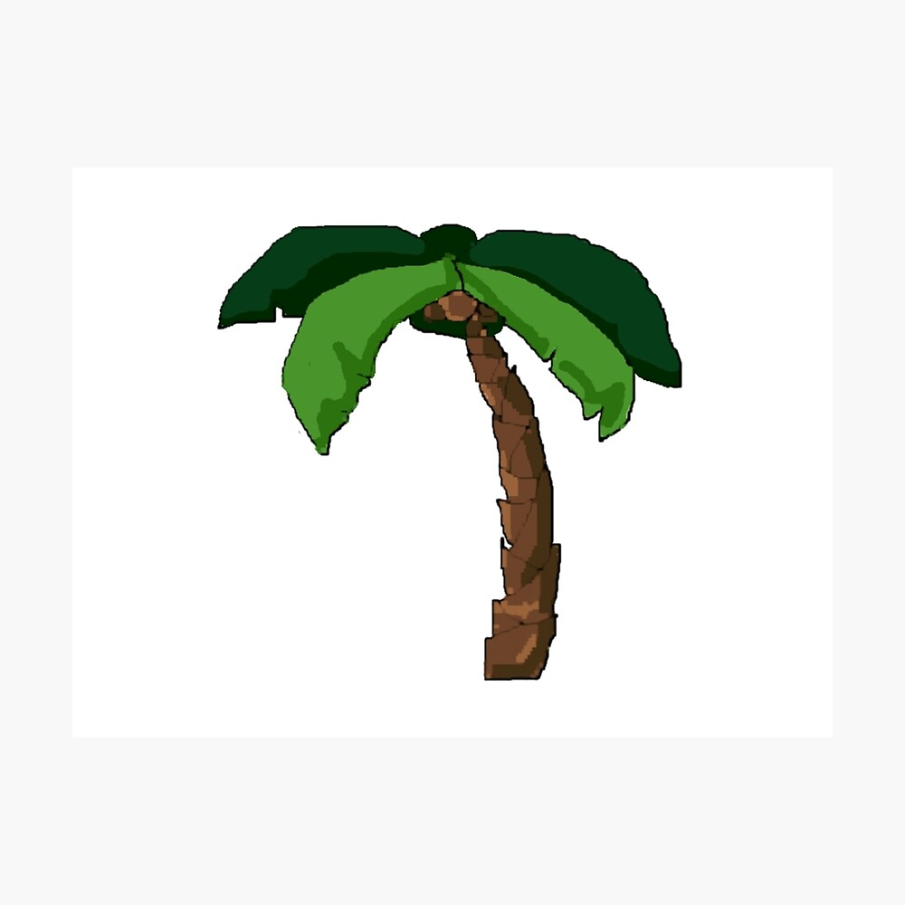 Palme Fotodruck