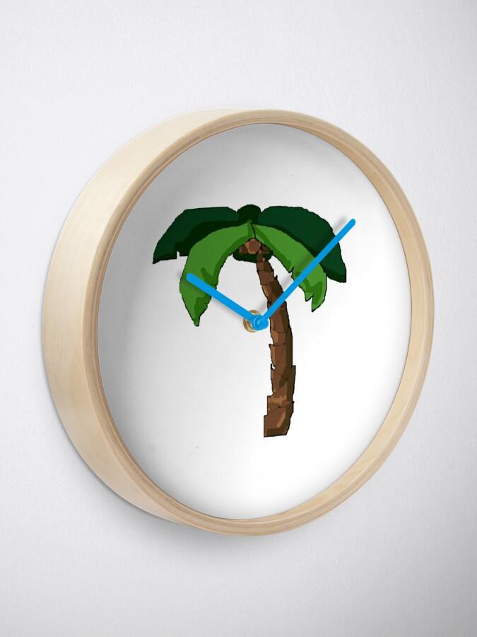 Alternative Ansicht von Palme Uhr