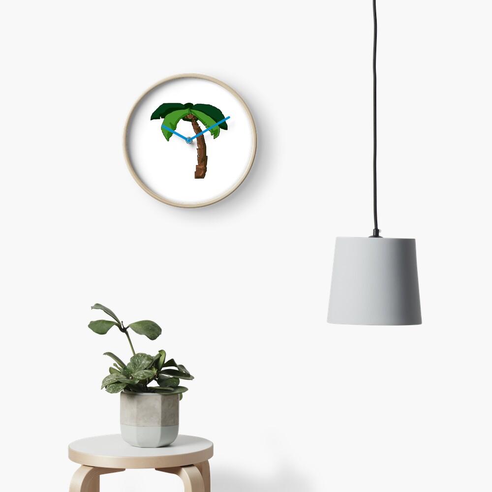 Palme Uhr