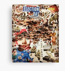 Election Day  Canvas Print