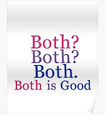 Both is Good.  Poster