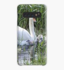 Swan and signets Case/Skin for Samsung Galaxy
