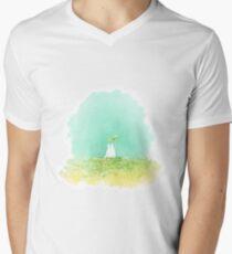 Small Totoro Mens V-Neck T-Shirt
