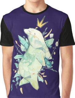 Polar bear king T-shirt Graphique