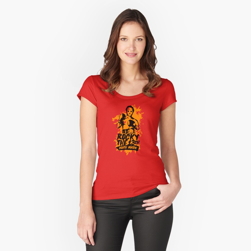 Rocky The 13th Women's Fitted Scoop T-Shirt Front