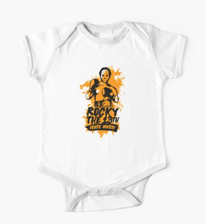 Rocky balboa drawing kids amp baby clothes redbubble