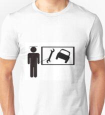 Vocational training - car maintainence Unisex T-Shirt