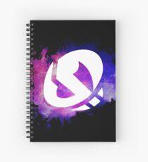 Team Skull Galaxy Spiral Notebook