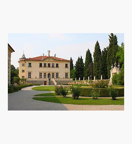 Villa Valmarana ai Nani Photographic Print