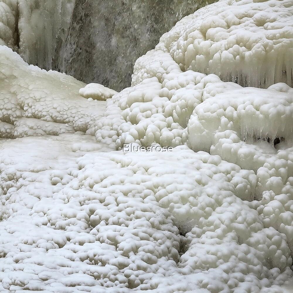 Winter waterfall by Bluesrose