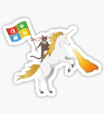 Ninja Cat Unicorn Microsoft Windows Sticker