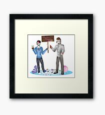 We may have commited homicide Framed Print