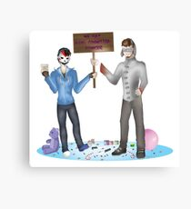 We may have commited homicide Canvas Print