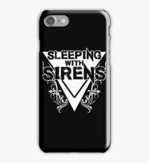 Sleeping with Sirens Floral - Dark iPhone Case/Skin