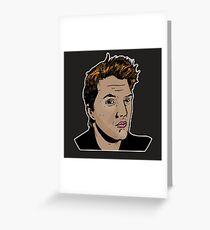 Josh Homme - Eagles of Death Metal - Queens of theStone Age Greeting Card