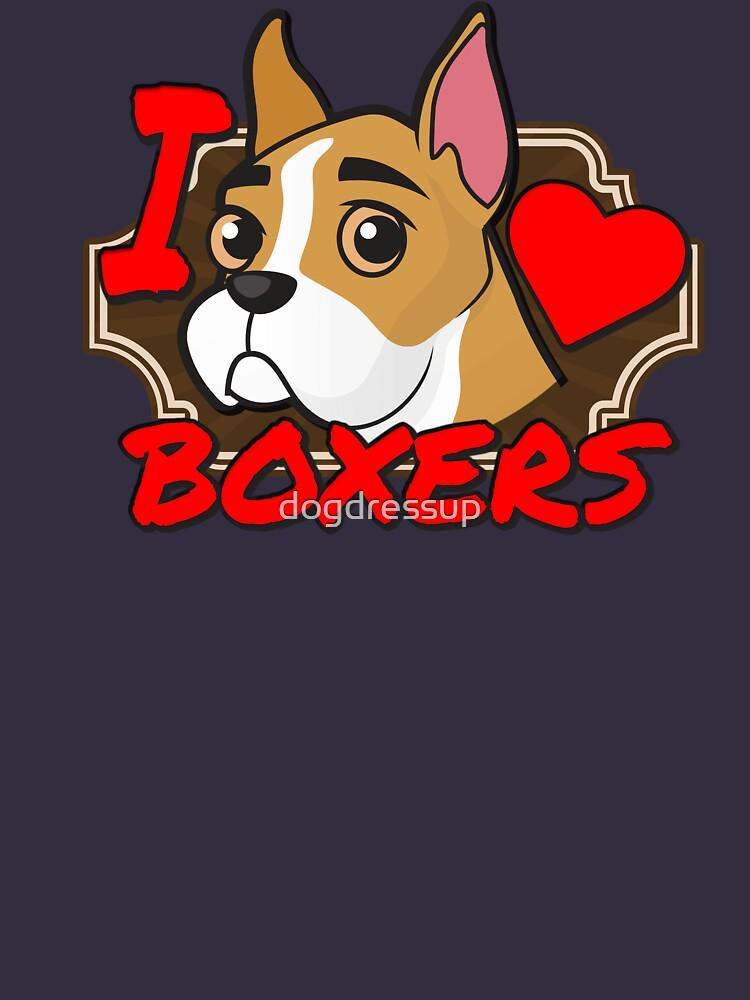 Amo a los boxeadores de dogdressup