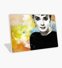 Tribute to Audrey Hepburn Laptop Skin