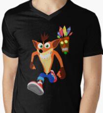FunnyBONE - Crash 3 Men's V-Neck T-Shirt