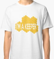 I'm A Keeper Funny Bee Keeping Apparel Classic T-Shirt