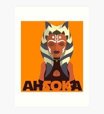 Ahsoka Art Print