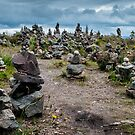 Skye, Stacked Stones by Colin Metcalf