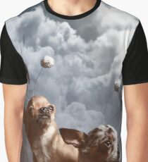 Scifi themed space chihuahuas, adventuring through infinity and beyond! Graphic T-Shirt