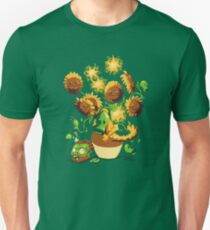 Sunflowers vs zombies Unisex T-Shirt
