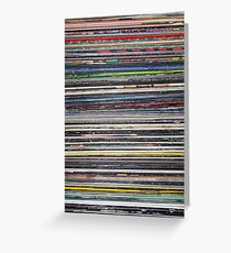 Vinyl Stack Greeting Card