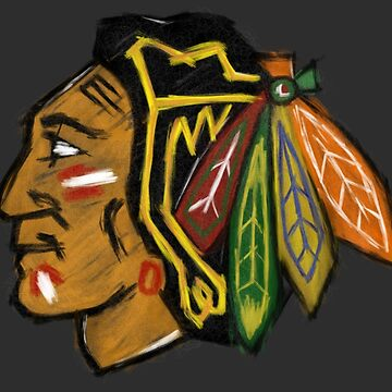 Chicago Blackhawks Paint by rayres29