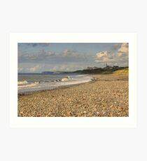 Seascale, Cumbria Art Print