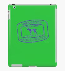 Republic of Newtown - 2014: Blue iPad Case/Skin