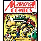 Mushroom Comics by Harzack