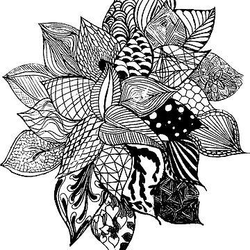 leaf pattern by RayRay000