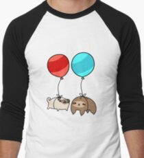 Balloon Sloth and Pug T-Shirt