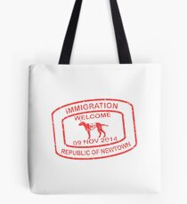 Republic of Newtown - 2014: Red Tote Bag